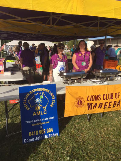AMLC Lions Trisha and Peter Jackson and Lion Louise and Steve Filer