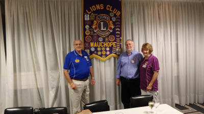AMLC Lions Frank and Jeanette Deguara