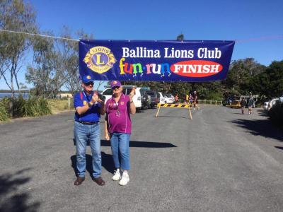 AMLC Lions Frank and Lynne Mouchel