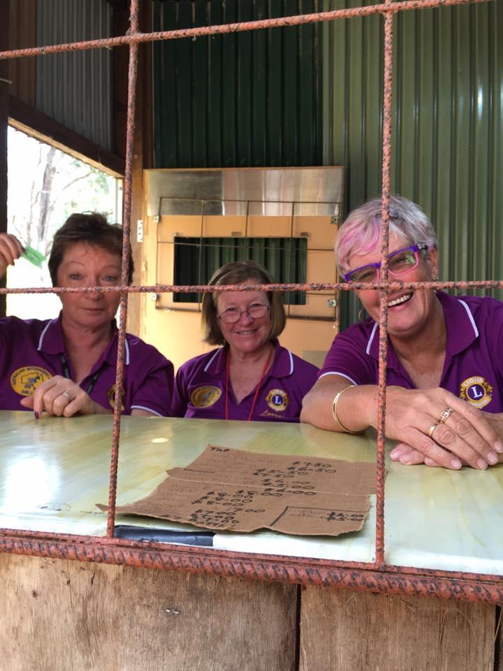 AMLC Lions Denese Reynolds, Lorraine Waddington and Jan Binskin