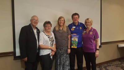 AMLC Lions Paul and Eleanor Scully and Lions Clive and Joan Adcock