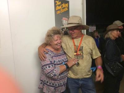 AMLC Lions Supporters Mick and Rhonda Allman