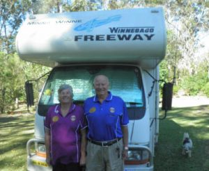 * AMLC Lions Ray and Judy Forster