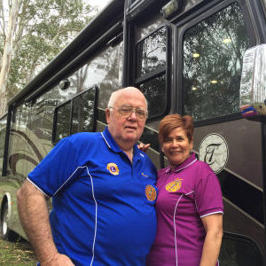 * AMLC Lions Ross and Lorna Cameron