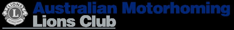 Australian Motorhoming Lions Club Logo