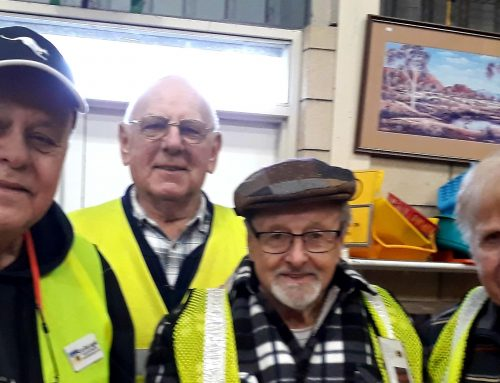 Our member helps Lions Club of  Richmond in South Australia